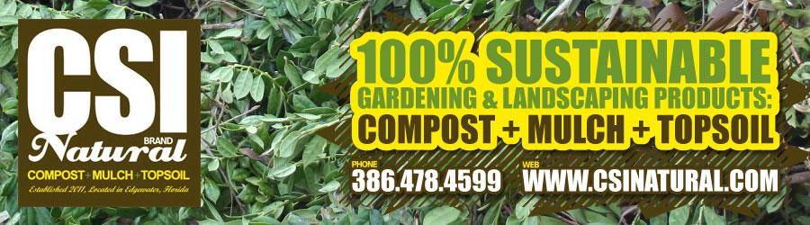 CSI Natural Compost, Mulch & TopSoil